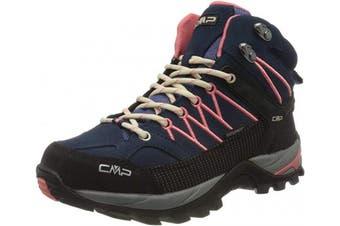 (4 UK, Blue Blue Flamingo 15me) - CMP - F.lli Campagnolo Women's Rigel Mid Wmn Trekking Sh High Rise Hiking Boots