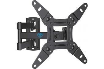 """(13-42"""") - TV Wall Bracket Mount, Swivels Tilts TV mount for 13-42 inch LED LCD flat & curved TV or monitor up to 20kg, max.VESA 200x200mm"""