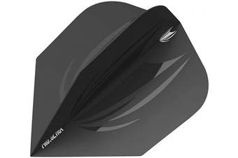 (Black, No. 6) - Target Darts 5 x ID Pro. Ultra Dart Flights No. 2 and No. 6 – 38cm Total