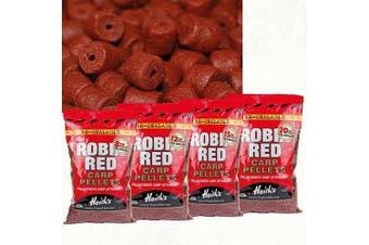 Dynamite Baits 12mm Robin Red Pre Drilled Pellets 900g the original Haith's ®