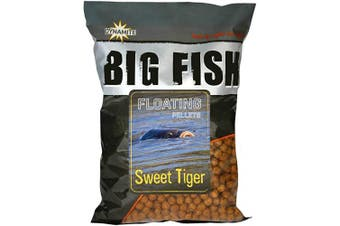 Dynamite Baits Big Fish Floating Pellets Sweet Tiger 1.1kg Bag
