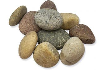 Creativity Street PAC5267 Craft Rocks, Assorted Natural Colours 10