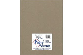 Accent Design Paper Accents ExtraHeavyNat Chipboard 8.5x11 XL Heavy 32pt Natural