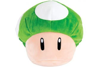 (1-Up Mushroom) - Club Mocchi Mocchi Mario Kart 1-Up Mushroom Plush Stuffed Toy | Super Soft | Great for Kids & Collectors