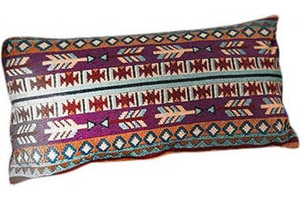 (Sham - Queen, Native) - Kinara Southwestern Bedding Queen Sham - Western Aztec Navajo Native American Tribal Print Pillow Case