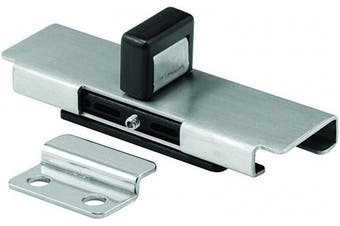 """Sentry Supply 1670cm - 25080cm Stamped Stainless Steel """"Bobrick"""" Style Latch Inswing Doors Slide Latch with Keeper"""