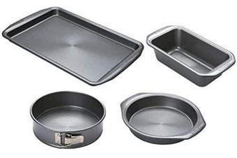 (Bakeware Set) - Circulon - Momentum - 4 Piece Bakeware Set - Non Stick - PFAO Free - Dishwasher Safe - Carbon Steel