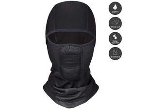 (fleece) - Balaclava Motorcycle Balaclava Winter Thermal Headwear Windproof Balaclava for Skiing Cycling Motorbike.