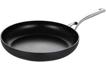 (25cm  Fry Pan) - EPPMO 25cm Hard-Anodized Aluminium Fry Pan, Nonstick Frying Pan, Stainless Steel Handle, Dishwasher & Oven Safe