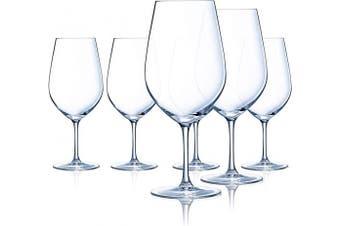 (Bordeaux, Set of 6) - Chef & Sommelier L9232 Domaine 770ml Bordeaux Wine Glass, Set of 6, Clear