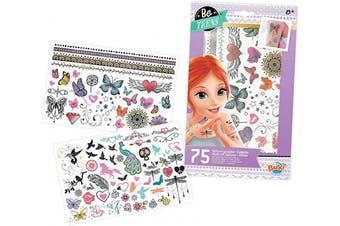 Buki France TA004 75 Washable Tattoos-Glitter