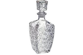 (750ML = 25 ounces) - Liquor Bottle Decanter with Stopper Glass (750ML)