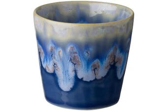 (6, Denim) - COSTA NOVA Stoneware Ceramic Dish Grespresso Collection Espresso Cups 6-Piece Set, 90ml (Denim)