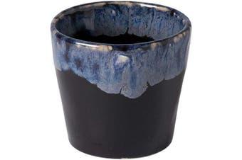 (6, Black) - COSTA NOVA Stoneware Ceramic Dish Grespresso Collection Espresso Cups 6-Piece Set, 90ml (Black)