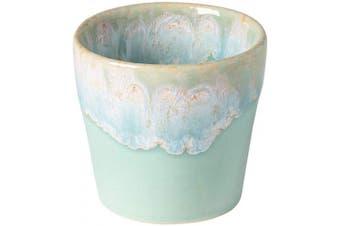(6, Aqua) - COSTA NOVA Stoneware Ceramic Dish Grespresso Collection Espresso Cups 6-Piece Set, 90ml (Aqua)