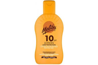 (SPF 10) - Malibu Protective Sun Lotion with SPF10 200 ml