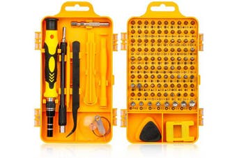 Tonsiki Precision Screwdriver Set, 115 in 1 Multi-function Magnetic Screwdriver Repair Tool Kit for Cellphone, Laptop, Eyeglasses, Watch, PC, Game Console, Electronic