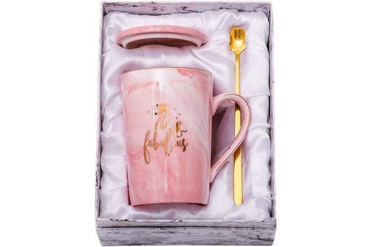 70 Fabulous Shinnywis 70 And Fabulous Mug 70th Birthday Gifts For Women 70th Anniversary Gift Idea For Women Her Wife Mom Grandma Sister Bff Friend 410ml Birthday Mug Kogan Com