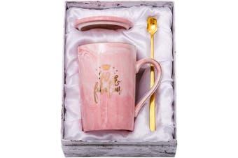 (40&Fabulous) - ShinnyWis 40 and Fabulous Mug - 40th Birthday Gifts for Women - 40th Anniversary Gift Idea for Women Her Wife Mom Grandma Sister BFF Friend 410ml birthday Mug