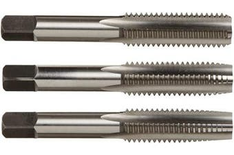 Alfa Tools HSMTS171014 4mm by 0.7mm High-Speed Steel Tap Set (Taper/Plug/Bottom) Made In USA,