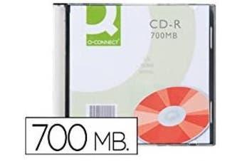 Connect CD-R 700 MB 52x SlimCase 10 Pieces CD-R 700MB 10pcs – Virgin CD-RW (CD-R, 700 MB, 10 Pieces (S), 52x, 80 Min)