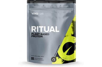(Natural) - Vivo Life Ritual - Plant-Based Protein Powder | Boost Daily Protein Intake, (Natural 960g, 30 Servings)