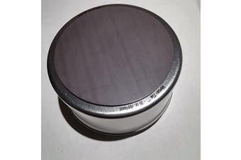 (2 cup (set of 4)) - Applause Magnetic Versatile Food & Spice Storage Tins, BPA Free, Rigid Clear Window Lid, Food Grade Tinplate Steel (2 cup (set of 4))
