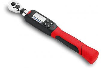 ACDelco ARM601-8.6cm Digital Torque Wrench (3.7 to 11m-lbs.), with Buzzer & LED Flash Notification - ISO 6789 Standards with Certificate of Calibration