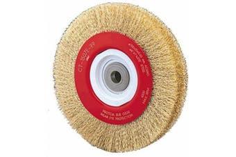 Alfa Tools WB67153 20cm x 1.8cm Crimped Wire Wheel