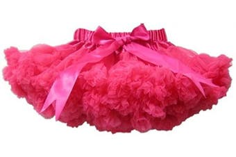 (1-2 Years, Hot Pink) - BUENOS NINOS Baby Girls' Bdance Tutu Pettiskirt