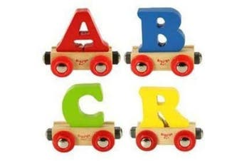 (R) - Bigjigs Name Train Letters (R)
