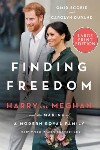 Finding Freedom: Harry and Meghan and the Making of a Modern Royal Family INSTANT INTERNATIONAL BESTSELLER * NEW YORK TIMES BESTSELLER * #1 SUNDAY TIMES BESTSELLERThe first, epic and true story of the Duke and Duchess of Sussex's life together, finally revealing why they chose to pursue a more independent path and the reasons behind their unprecedented decision to step away from their royal lives, from two top royal reporters who have been behind the scenes since the couple first met. Finding Freedom is complete with full color photographs from Harry and Meghan's courtship, wedding, Archie's milestones, and many more unforgettable moments. When news of the budding romance between a beloved English prince and an American actress broke, it captured the world's attention and sparked an international media frenzy. But while the Duke and Duchess of Sussex have continued to make headlines—from their engagement, wedding, and birth of their son Archie to their unprecedented decision to step back from their royal lives—few know the true story of Harry and Meghan.For the very first time, Finding Freedom goes beyond the headlines to reveal unknown details of Harry and Meghan's life together, dispelling the many rumors and misconceptions that plague the couple on both sides of the pond. As members of the select group of reporters that cover the British Royal Family and their engagements, Omid Scobie and Carolyn Durand have witnessed the young couple's lives as few outsiders can. With unique access and written with the participation of those closest to the couple, Finding Freedom is an honest, up-close, and disarming portrait of a confident, influential, and forward-thinking couple who are unafraid to break with tradition, determined to create a new path away from the spotlight, and dedicated to building a humanitarian legacy that will make a profound difference in the world.  About the Author Omid Scobie is a London-based writer, royal editor for Harper's Bazaar, an ABC News co