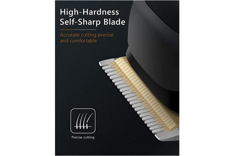 (Black) - Hair Clippers SUPRENT Corded Hair Clippers for Men, 21-piece Hair Cutting Kit with 27 Cutting Length, 10 Guide Combs, Scissor, Storage Case