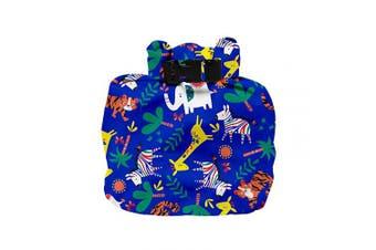 (safari celebration blue) - Bambino Mio Wet Nappy Bag, Safari Celebration Blue