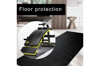 Dequate Treadmill Mat Heavy Duty, Wear Resistance And Compression Resistance Rubber Impact Mat Exercise Mats For Gym Equipment, For Treadmill/Ski Machine/Exercise Bike