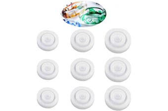 (9pc) - 9PCS Silicone Ring Mould 3 Different Sizes Resin Epoxy Mould Jewellery Rings Resin Casting Circle Mould for DIY Jewellery Craft Making (9pc)
