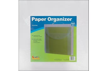 Advantus Cropper Hopper Paper Organiser, Frost, 30cm by 30cm