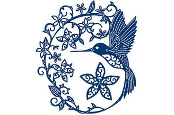 Bird Metal Die Cuts,Flower Wedding Leaves Nature Border Cutting Dies Cut Stencils for DIY Scrapbooking Photo Album Decorative Embossing Paper Dies for Scrapbooking Card Making