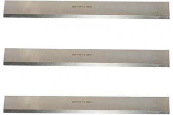 """8 Inches Industrial Planer and Jointer Blades Knives Replacement for Grizzly Model G6698, Oliver and other 8"""" Woodworking Thickness Planer 200x25x3mm,3pcs"""