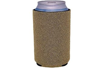 (2, Gold) - Glitter Can-Tastic Neoprene Can Coolie (Gold, 2)