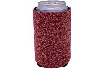 (2, Pink) - Glitter Can-Tastic Neoprene Can Coolie (Pink, 2)