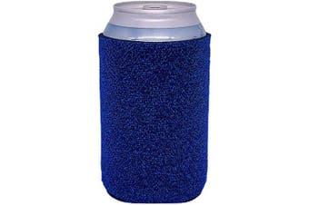 (2, Blue) - Glitter Can-Tastic Neoprene Can Coolie (Blue, 2)