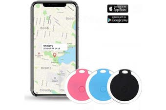 (Pink) - Key Finder, Afaneep Smart Tracker, Item Finder, With Control phone camera and recording function and Anti-Lost Alarm Reminder, Use for Keys, Pets, Wallet, Cell Phone, ipad etc (Pink)