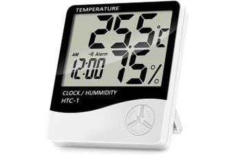 JY Indoor Thermometer & Hygrometer with Humidity Gauge & Pro Accuracy Calibration