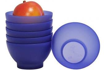 (300ml, Blue) - COZA DESIGN Coza 6 Piece Set Bowl, 300ml, Blue