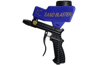 AS118-3 Water Blaster, Sandblaster Gun Kit for Wet and Dry Blasting, Water Blasting, Cleaning, Pool Maintenance, Gardening, Polishing, and Etching