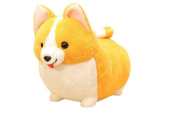 (Corgi1 17.7x13.7inch) - 123Arts Cartoon Corgi Dog Soft Plush Throw Pillow Animal Pillow Plush Toy for Gift
