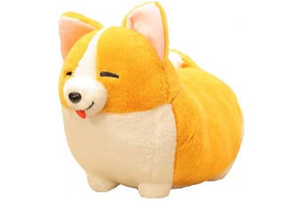 (Corgi2 17.7x13.7inch) - 123Arts Cartoon Corgi Dog Soft Plush Throw Pillow Animal Pillow Plush Toy for Gift