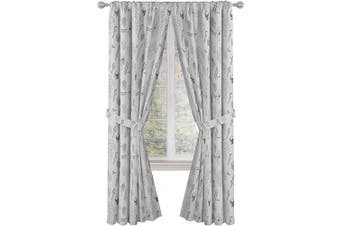 (210cm , Minecraft) - Jay Franco Minecraft Survive Light 210cm inch Drapes 4 Piece Set - Beautiful Room Décor & Easy Set up - Window Curtains Include 2 Panels & 2 Tiebacks (Official Minecraft Product)