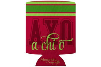 (Alpha Chi Omega) - Alexandra and Company Can Coolers, Alpha Chi Omega